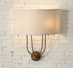 Iron Wall Sconces | Gold Wall Sconces With Shade | Wall Lights