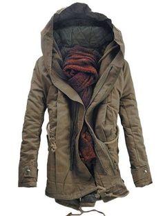 zaful parka coat