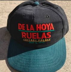 Vintage Vintage Boxing Oscar De La Hoya Vs Rafael Ruelas Fight Snapback Hat  Size one size - Hats for Sale - Grailed 22f4f513cc48