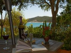 Paradise in Portugal - Book, wine, view, P & Q ... who could ask for more?