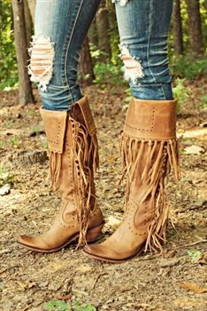 All About Fringe Boots $359.99 #SouthernFriedChcis