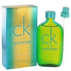 fb06a92faf4fe Calvin Klein Ck One Summer Cologne 3.4 ED Toilette Spray New Unisex 2014 EDT   CalvinKlein