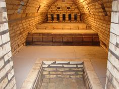 wood-fired kiln, Japan | Karatsupots Blog Good construction images on his blog