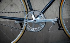 State Bicycle Co.Factory Five Anodized Silver 4... F5 Lattice Chainring