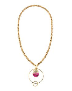 Stalactite & Hoop Pendant Chain Necklace by Devon Leigh at Neiman Marcus Last Call.