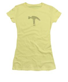 Hammer Women's T-Shirt (Junior Cut) featuring the photograph Build And Break by Sverre Andreas Fekjan
