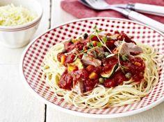 Spaghetti met tonijn en tomaat (Libelle Lekker!)