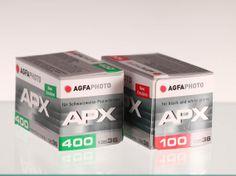 AGFAPAN 100  e  400 135/36 - nuova emulsione  www.fotomatica.it   info@fotomatica.it