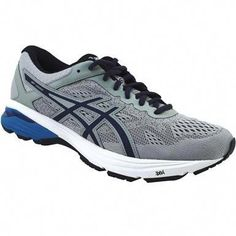 415741ed8 Asics Gt 1000 6 Running Shoes - Mens Mid Grey Peacoat Directoire Blue