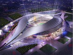 Beijing Olympic Stadium. Looks like ya mam's.