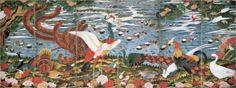 Birds, Animals, and Flowering Plants in Imaginary Scene - Ito Jakuchu