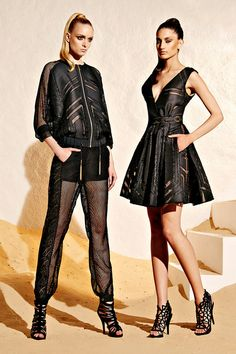 (Right) One of my favorite looks from Zuhair Murad Resort 2015 Collection Love the dress Runway Fashion, High Fashion, Fashion Beauty, Fashion Show, Fashion Design, Net Fashion, Zuhair Murad, Vogue, Models