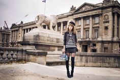 Les Tuileries - pandora - knee boots