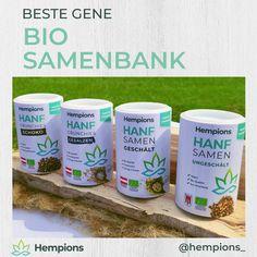 Die Samenbank mit besten Genen aus den Sorten Finola und Fedora - durch die Bank aus biologischem Anbau in Österreich, - zum Großteil sogar aus Vorarlberg.  - Hanfsamen sind besonders potente Nährstoff-Lieferanten und versorgen deinen Körper optimal für Höchstleistungen.  Das Paket besteht aus je 200g: Hanfsamen geschält, Hanfsamen ungeschält, Hanf Crunchies Schoko, Hanf Crunchies gesalzen. #samenbank #hempions #crunchies Drinks, Blog, Hemp Fabric, Hemp Seeds, Organic Farming, Foods, Drinking, Beverages, Drink