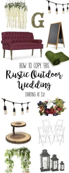 Rustic Wedding, Decorations, DIY, Ideas, Reception, Colors, Centerpieces, Cake, Outdoor Wedding, cake, country, on a budget, flowers, photo booth, photography, fall, winter, vintage, favors, barn, ceremony, spring, outdoorsy, table decor, bridesmaids, venue, simple, elegant, theme, backdrop, shower, modern, photos #weddinginspiration, woodland #rusticwedding #goals #woodland #barnweddings #rusticweddingphotography #budgetwedding #outdoorweddingphotography #countryweddingcakes