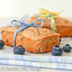blueberry & lemon loaves …
