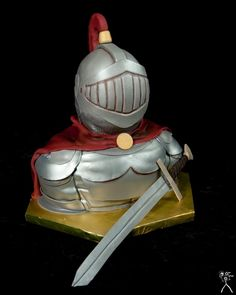 Awesome Knight Cake!