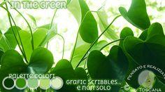 In the green - Color Palette May 5, 2015 http://graficscribbles.blogspot.it/…/palettecolori-verde.ht… #grenn #colorpalette