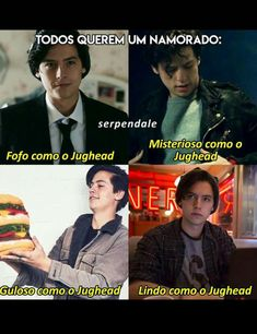 Basicamente o jughead❤️ Cole Sprouse, Dylan Sprouse, Best Series, Best Tv Shows, Zack Y Cody, Riverdale Memes, Memes Status, Archie Comics, Fifth Harmony