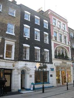 William Blake's house in South Moulton Street (no 17)