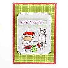 Papiernictvo - Vianočná pohľadnica - 8466335_