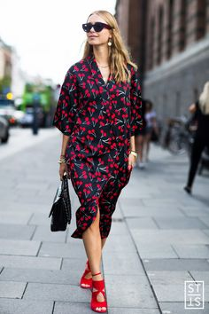 Street Style during Copenhagen Fashion Week Spring Summer 2016