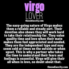 Virgo personality in relationships