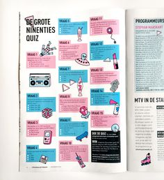Image result for quiz magazine design