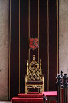 Czechia: Prague - inside the Castle - throne Prague Castle, Pictures, Painting, Europe, Czech Republic, Photos, Painting Art, Paintings, Painted Canvas