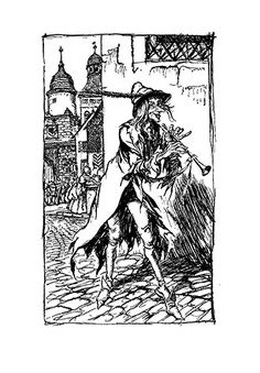 The Pied Piper of Hamelin – Illustrated by Arthur Rackham