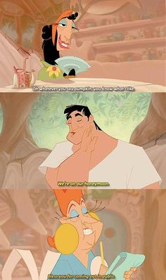 15 The Emperors New Groove Memes Disney Movies. Find More… READ 20 Funny Disney Memes Childhood Ruined Mind Blown Funny Disney Memes, Disney Quotes, Disney Cartoons, Hilarious Memes, Disney Love, Disney Magic, Disney Art, Disney And Dreamworks, Disney Pixar