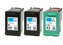 Buy #92 & #93 Ink Cartridge 3PK - 2B/1C for HP at LAinks.com. We offer to save 30-70% on ink and toner cartridges. 100% Satisfaction Guarantee.