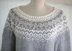 Ravelry: Selja pattern by Katrine Norwegian Knitting, Fair Isle Knitting Patterns, Icelandic Sweaters, Work Tops, Free Knitting, Sock Knitting, Knitting Machine, Vintage Knitting, Knit Crochet