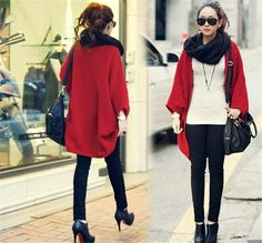 2017 New Fashion Women Casual Korea Loose Shawl Batwing Sleeves Lady Knit Sweater Coat Woolen Women Cardigans Jacket   http://www.slovenskyali.sk/products/2017-new-fashion-women-casual-korea-loose-shawl-batwing-sleeves-lady-knit-sweater-coat-woolen-women-cardigans-jacket/     Condition: new brand and high quality    Material: Mecerized Cotton/faux  Cashmere    Size:one average size    Weight: about 260.0g each    Package Includes: 1 pc    Feature:    1. Made of high-quali