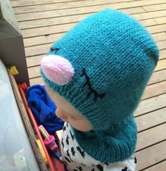 Adorable Knitting Pattern for Babies and Toddlers: Bluebird Hat - The Big To-Do List