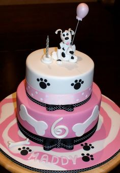 Dog Cake by Celebration Cakes Substitute the dog for a Border Collie & you're good!