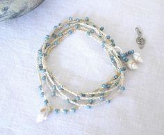 Bracelet de coquillage bracelet collier bohème collier