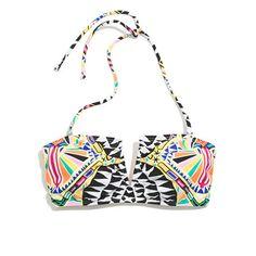 Madewell - Mara Hoffman® Cosmic Fountain V-Wire Bikini Top