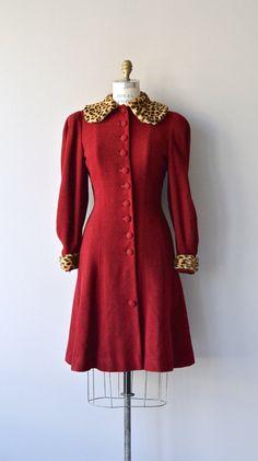 National Treasure coat 1930s wool coat vintage 30s by DearGolden