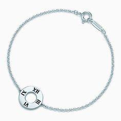 Atlas® pierced bracelet in sterling silver, medium, Tiffany, $125