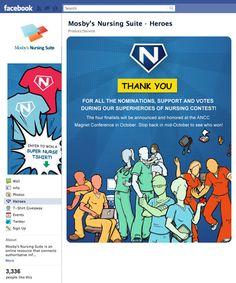 Superheroes of Nursing / Social Media / Facebook / Healthcare Marketing