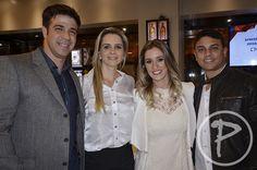 Fabiano e Camila Dutra, Marcela Mattos e Roberto Medule