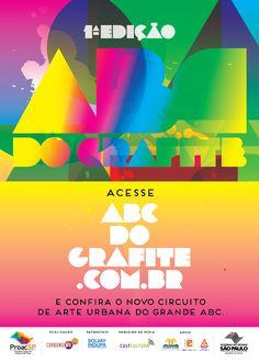 Peça: Cartaz Cliente: Cult Cultura Projeto: ABC Do Grafite Praça: São Paulo  www.i9suaideia.com.br
