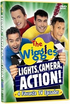 The Wiggles (2005) Lights, Camera, Action! (Lights, Camera, Action, Wiggles! / Get Ready To Wiggle / Zing Zang Wing Wang Wong / In The Wiggles World / Dorothy The Dinosaur / John Bradlelum / Get Ready To Wiggle / Move Your Arms Like Henry / We're Dancing With Wags The Dog / Can You (Point Your Fingers & Do The Twist?) / Rolling Down The Sandhills / Running Up The Sandhills / In The Wiggles World / Get Ready To Wiggle / Wags The Dog He Likes To Tango / Henry's Underwater Big Band)