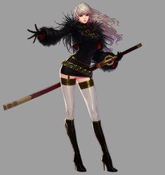 Female Slayer Portrait