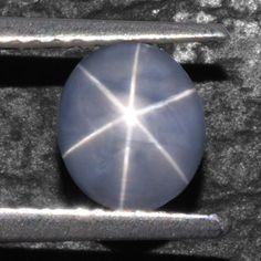 2 Cts Natural 6 Rays Sharp Blue Star Sapphire Unheated Oval Cabochon Video Burma #Unbranded