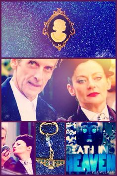 Doctor Who: Missy/Master Brooch & UNIT Keychain! New! On Sale! Series 8!