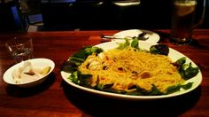 seafood oil pasta