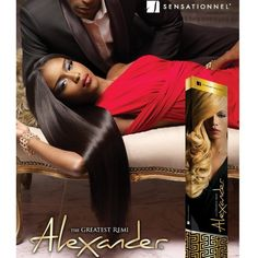 SENSATIONNEL Alexander, The Greatest Remi Hair 20""