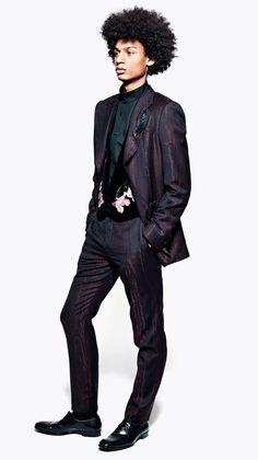 Alexander McQueen Menswear AW12